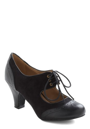 a6a0a8650a222 08ffbdc116c08c228e4bb594173037ee65c5c526. ModCloth · The Best of Times Heel  in Black ...