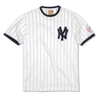 save off 4154f a3031 Red Jacket New York Yankees Retro Jersey Replica T-Shirt