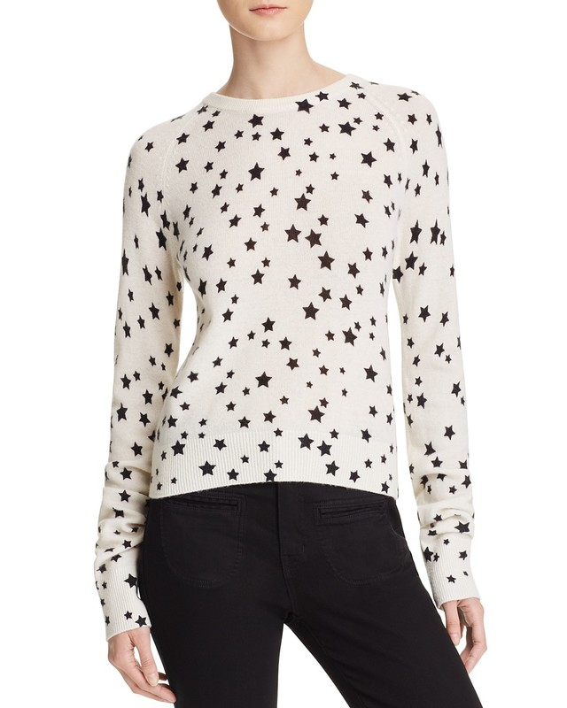 fa60d3c90c9 Kate Moss For Equipment Ryder Star Print Cashmere Sweater