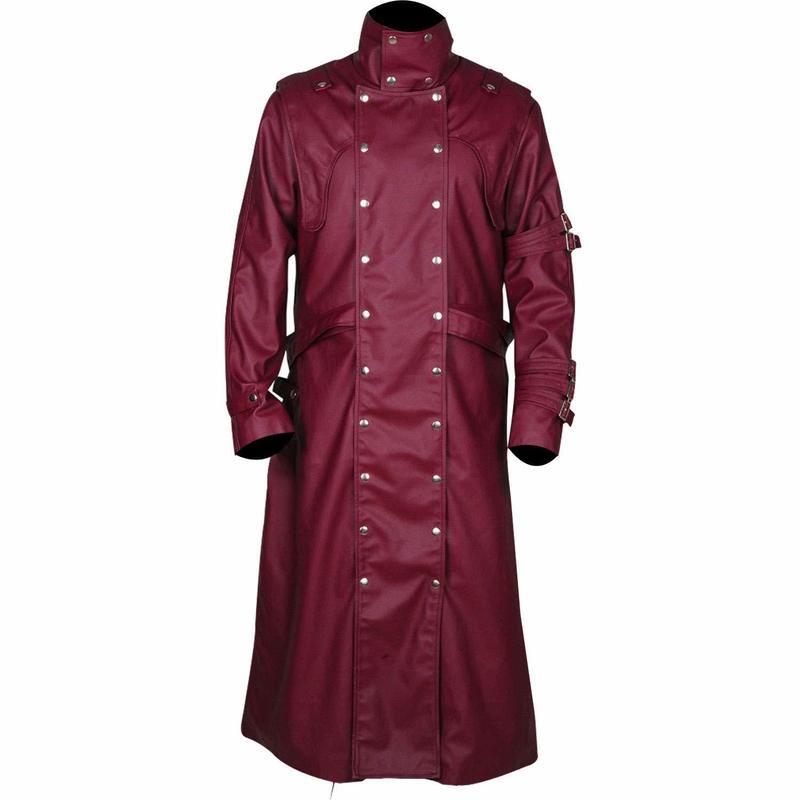 77838991f Ryan Gosling Blade Runner Officer K Fur Lapel Collar Trench Coat for ...