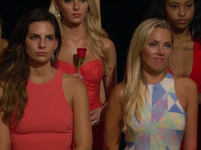 Sarah Herron's Geometric Dress on Bachelor in Paradise