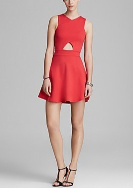 Bcbgeneration Ruffle Front Dress Pradux