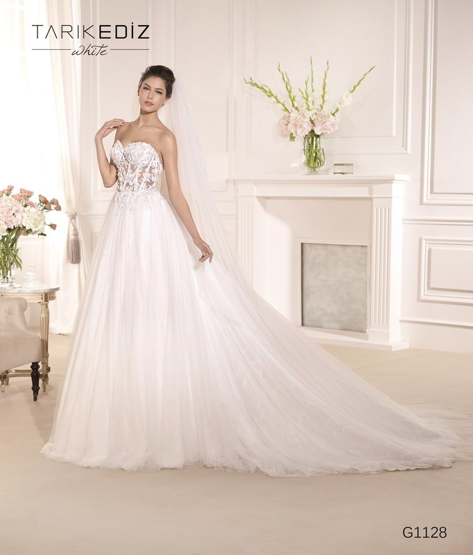 8730ae7314f Tarik Ediz G1128 Wedding Gown