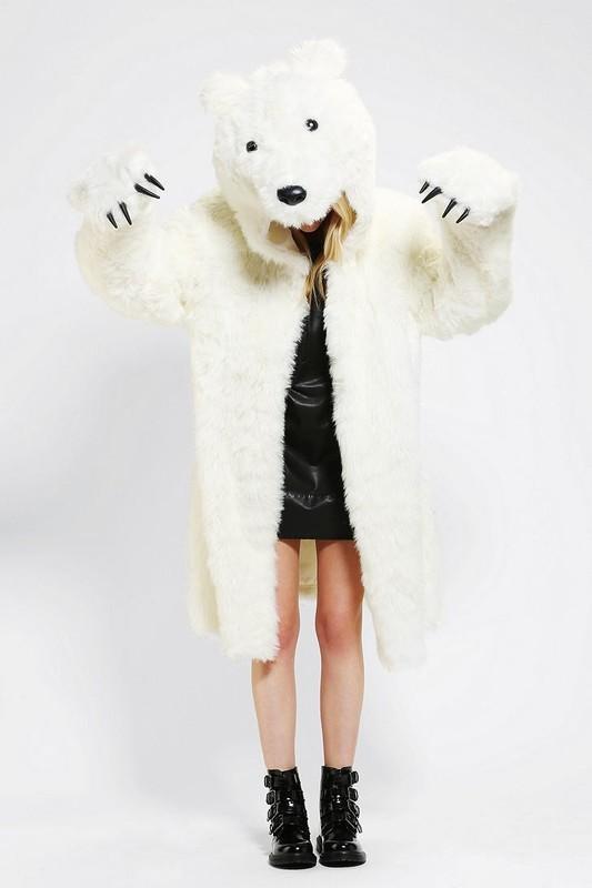 Polar bear jacket
